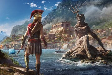 assassin's creed odyssey free download wallpaper