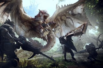 monster hunter world free download wallpaper