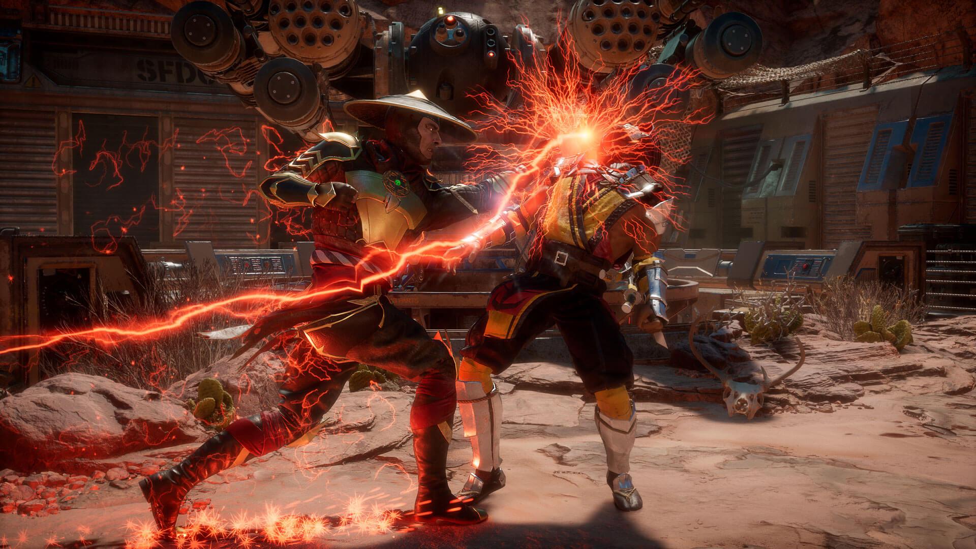 Mortal Kombat 11 free download wallpaper