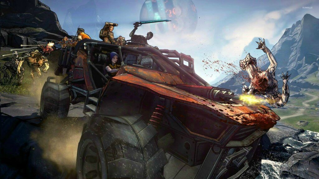 Borderlands 3 free download wallpaper