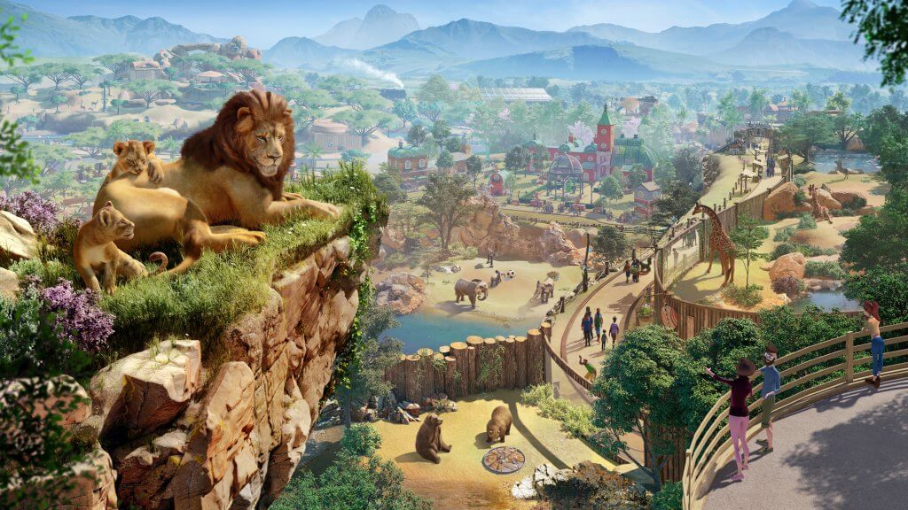 Planet Zoo download wallpaper