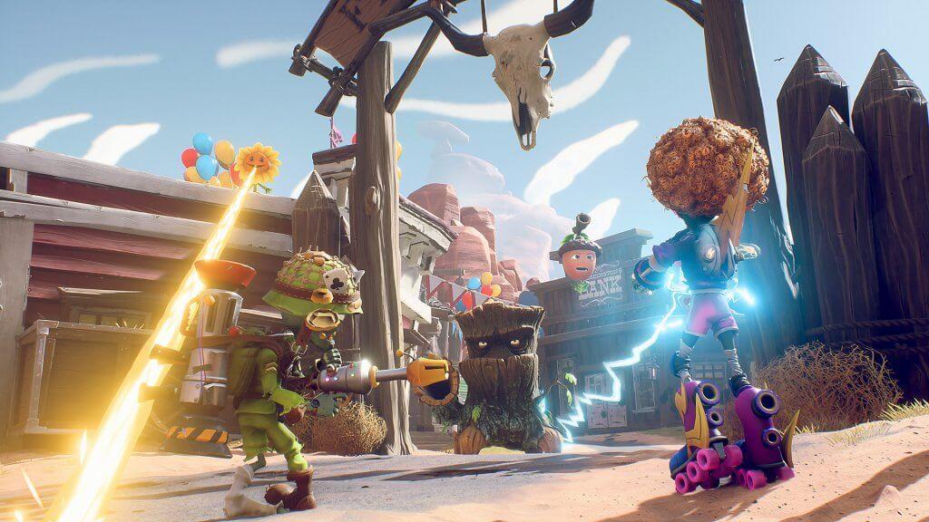 Plants vs Zombies Battle for Neighborville download wallpaper
