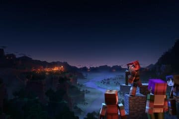 Minecraft Dungeons free download wallpaper