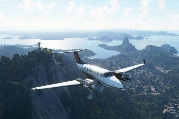 Microsoft Flight Simulator download wallpaper
